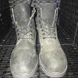 68e4b7265134b2 Timberland Shoes - 👟 TIMBERLAND BLACK BOOTS 6INCH SIZE 9.5 👟
